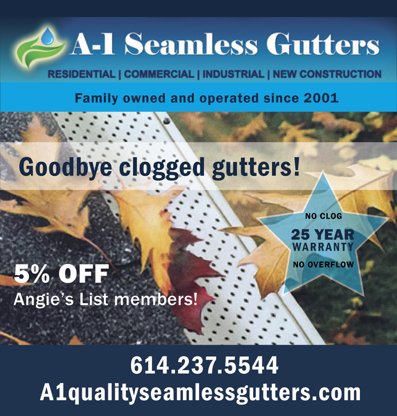 Angie S List A One Seamless Gutters Columbus Ohio